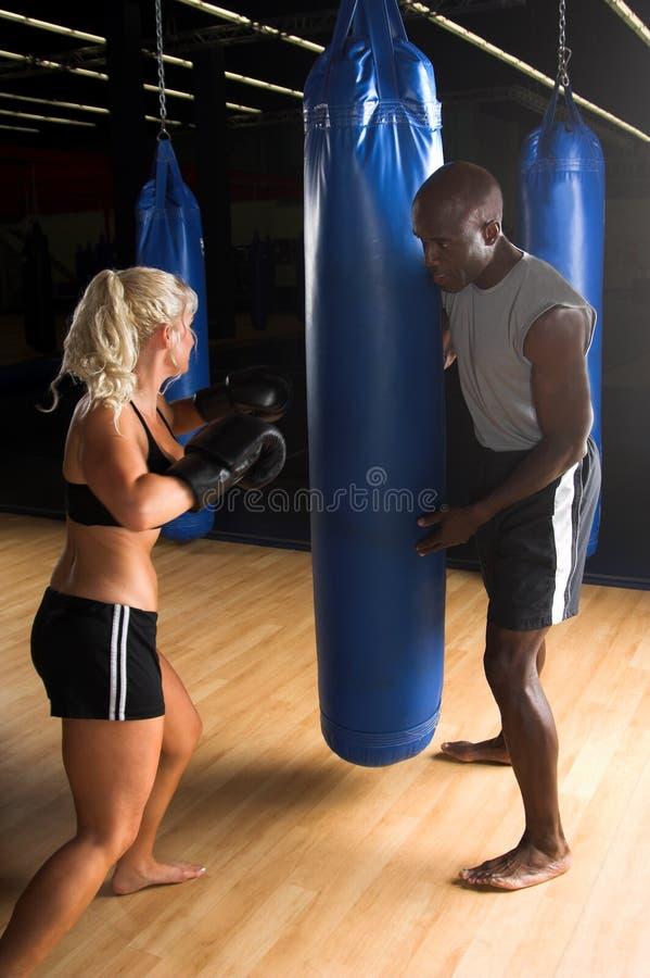 Campo de entrenamiento de MMA imágenes de archivo libres de regalías