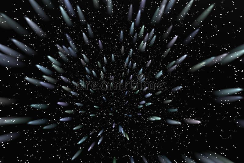 campo de estrela   ilustração do vetor