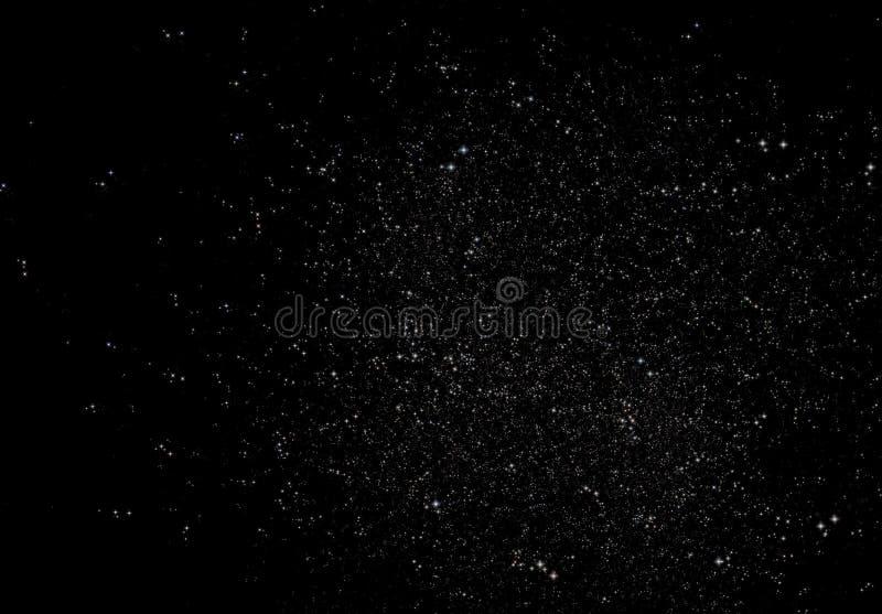 Campo de estrela infinito imagens de stock royalty free