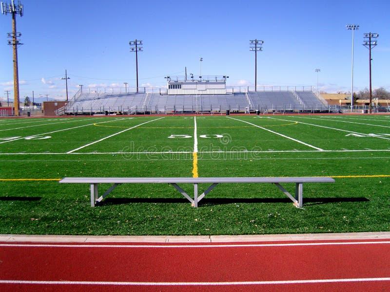 Campo de fútbol 2 imágenes de archivo libres de regalías