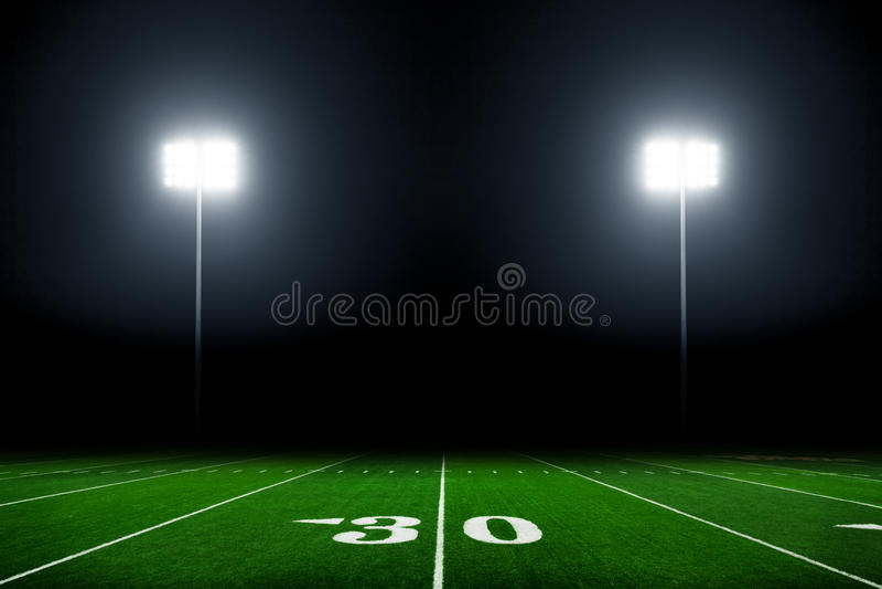 Campo de fútbol fotos de archivo