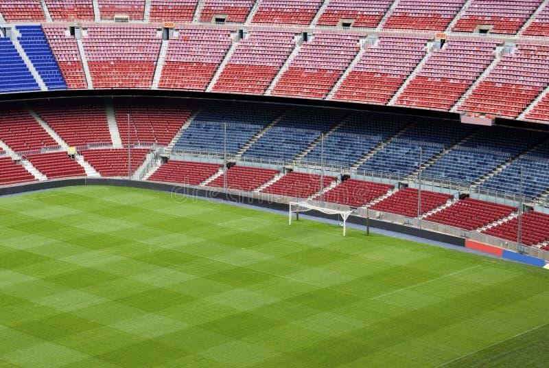 Campo De Fútbol Del Fútbol O Foto De Archivo Imagen De