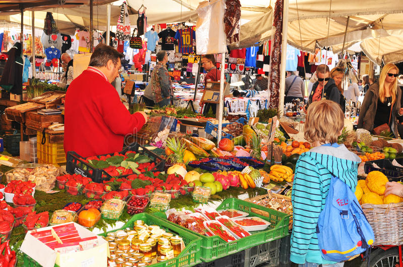 Campo de Fiori, Rome royalty free stock images
