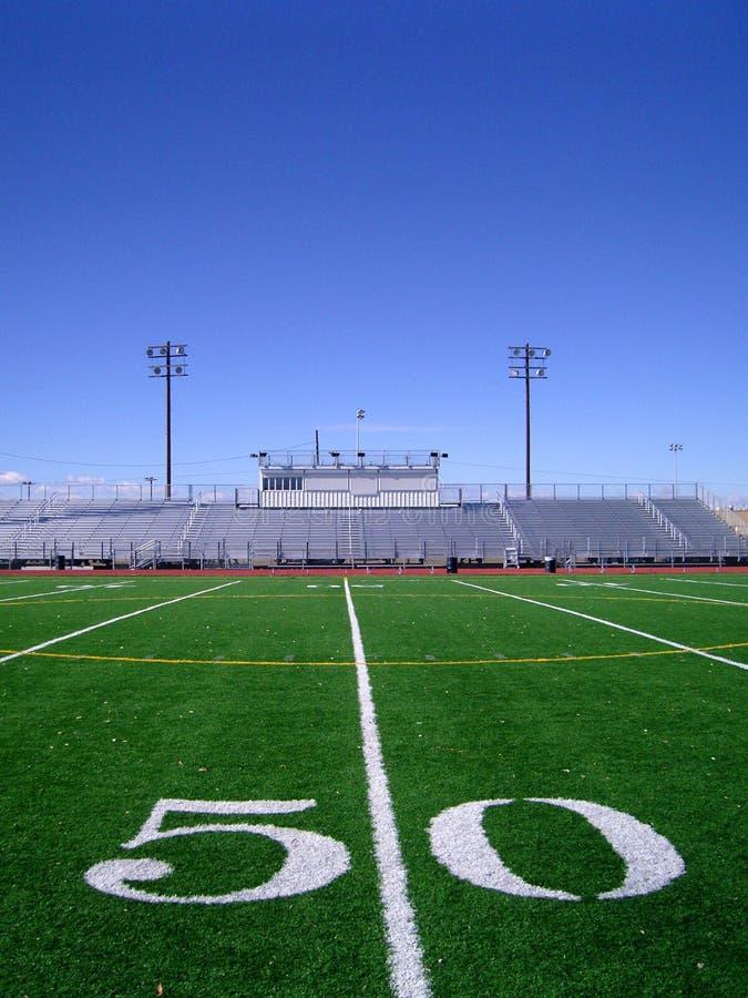 Campo de futebol 4 imagens de stock royalty free