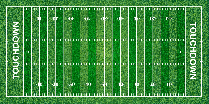 Campo de futebol americano, textura, ilustração do vetor ilustração stock