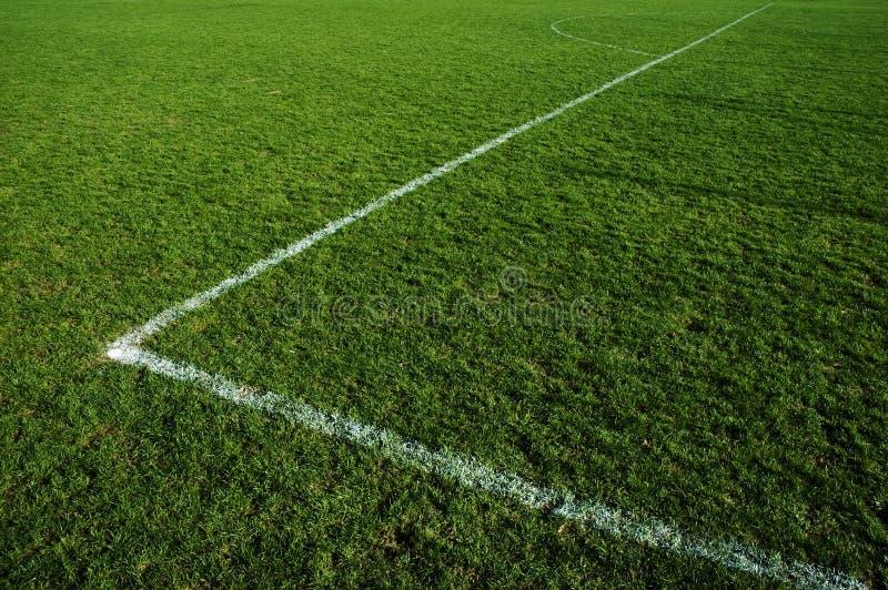 Campo de futebol da grama foto de stock royalty free
