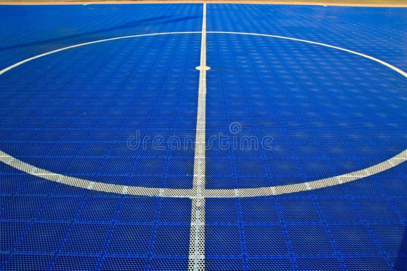 Campo de Futsal imagen de archivo