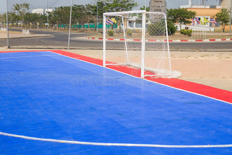 Campo de Futsal fotografia de stock royalty free