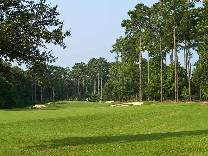 Campo de golf de Myrtle Beach foto de archivo