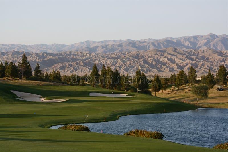 Campo de golf de Palm Spring fotografía de archivo