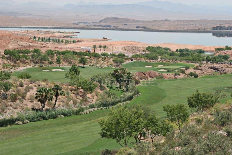 Campo de golf en Vegas fotografía de archivo