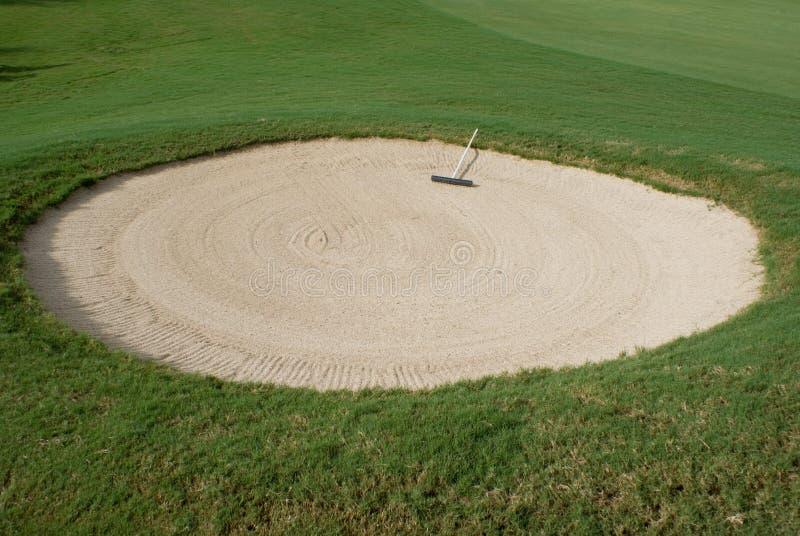 Campo de golfe imagem de stock royalty free