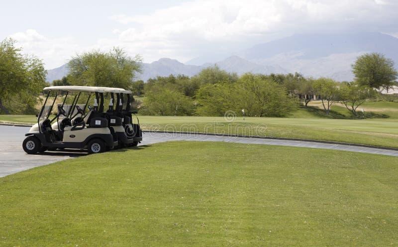 Campo de golfe da assinatura do jogador de Gary imagens de stock royalty free