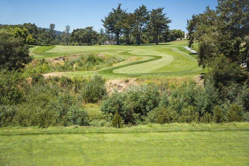 Campo de golfe de desafio foto de stock royalty free