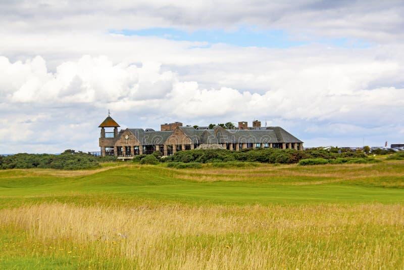 Campo de golfe do St Andrews fotos de stock
