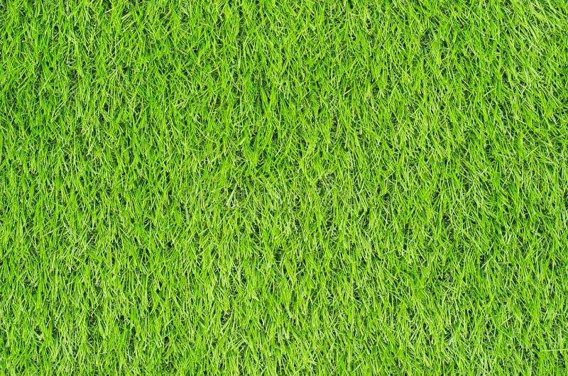 Campo de grama verde artificial foto de stock royalty free