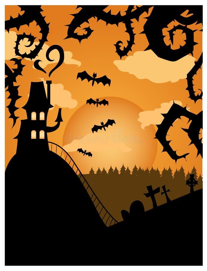 Campo de Halloween imagen de archivo libre de regalías