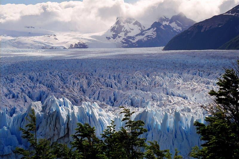 Campo de hielo fotografía de archivo libre de regalías
