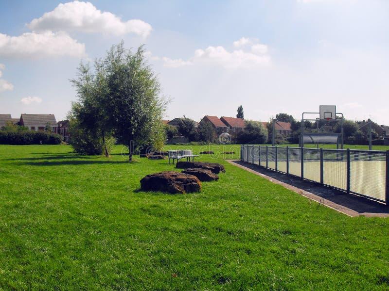Campo de jogos, Londres fotografia de stock royalty free