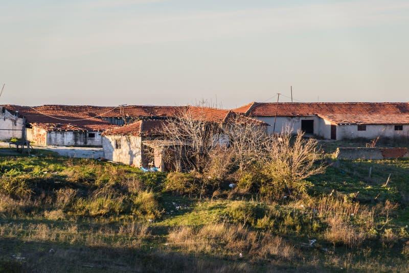 Campo de la ciudad de Cinarcik - Turquía imagen de archivo