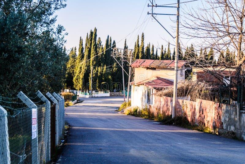 Campo de la ciudad de Cinarcik - Turquía fotos de archivo libres de regalías