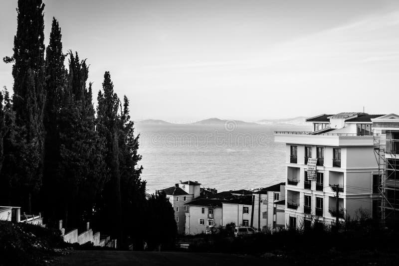 Campo de la ciudad de Cinarcik - Turquía imágenes de archivo libres de regalías