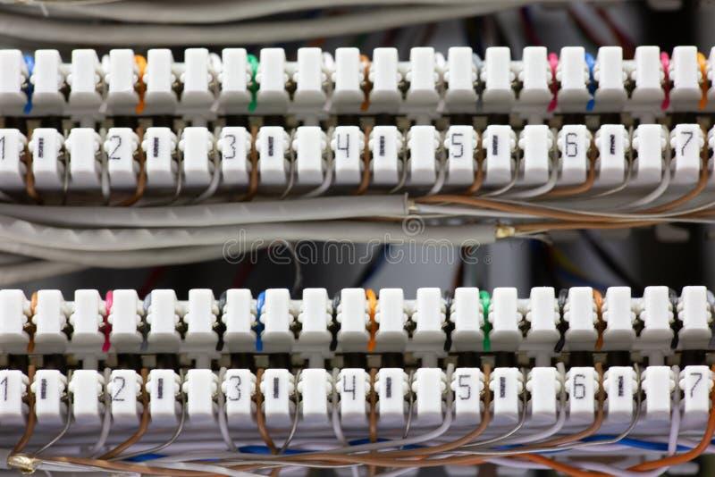 Campo de la conmutación del interruptor imagen de archivo libre de regalías