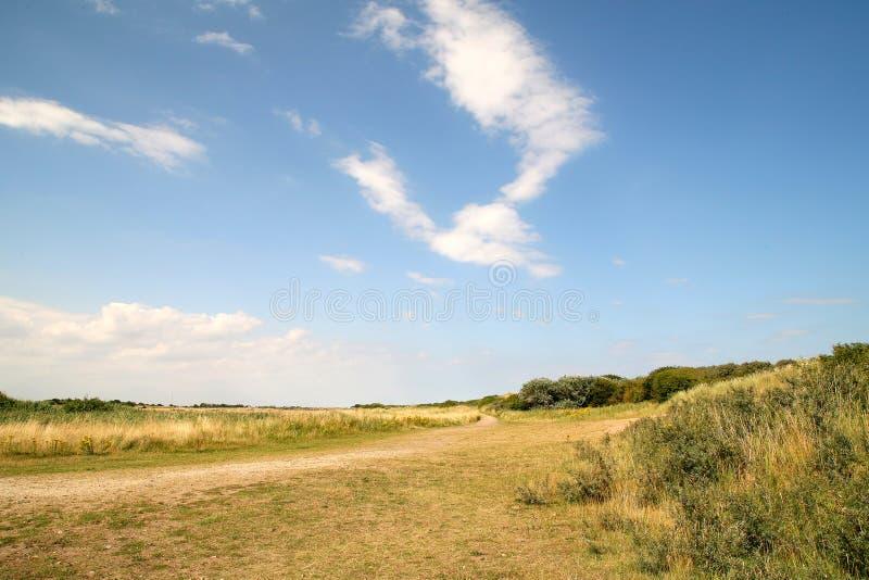 Campo de Lincolnshire foto de archivo