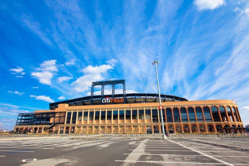Campo de New York Mets Citi fotos de stock