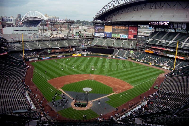 Campo de Safeco, Seattle imagem de stock