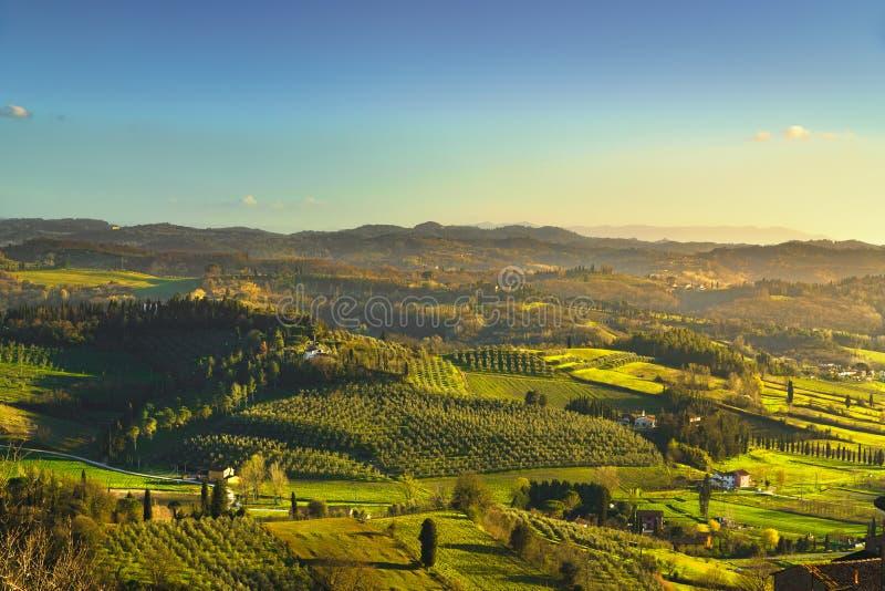 Campo de San Miniato Pisa, Toscana Italia Europa foto de archivo libre de regalías