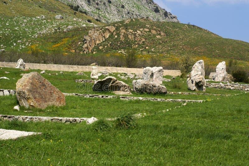 Campo de Sicília imagens de stock