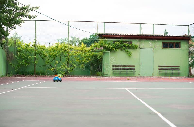 Campo de tênis vazio fotografia de stock