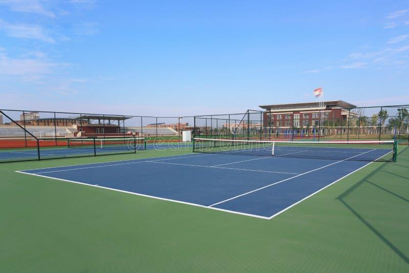 Download Campo de tenis imagen de archivo. Imagen de tenis, construido - 64202641