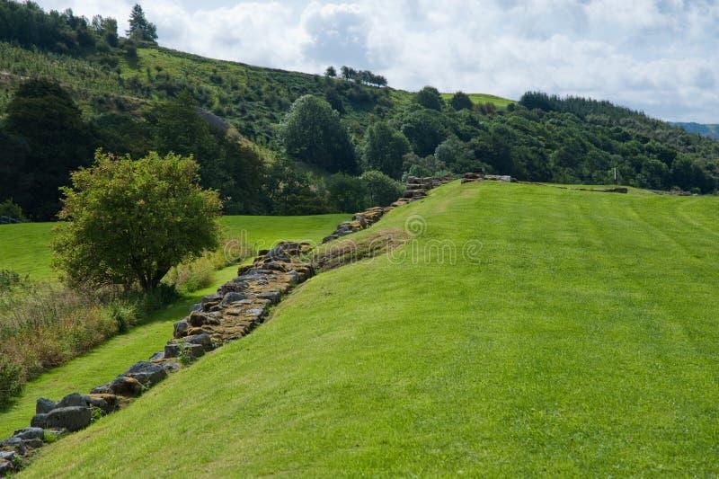 Download Campo de Vindolanda imagem de stock. Imagem de hadrian - 12811699