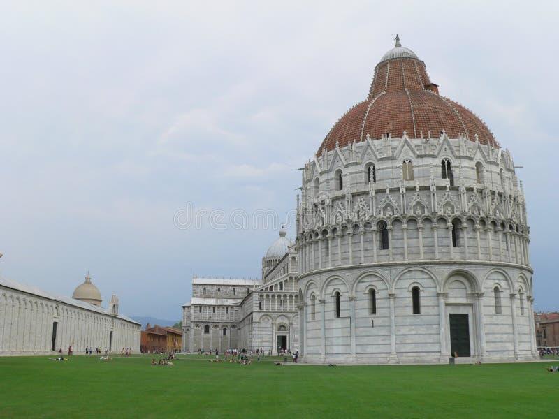 Campo dei Miracoli, Pisa (Italia) fotografia stock