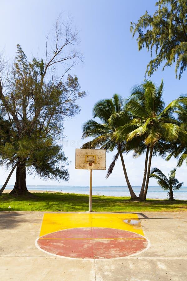 Campo del baloncesto imágenes de archivo libres de regalías