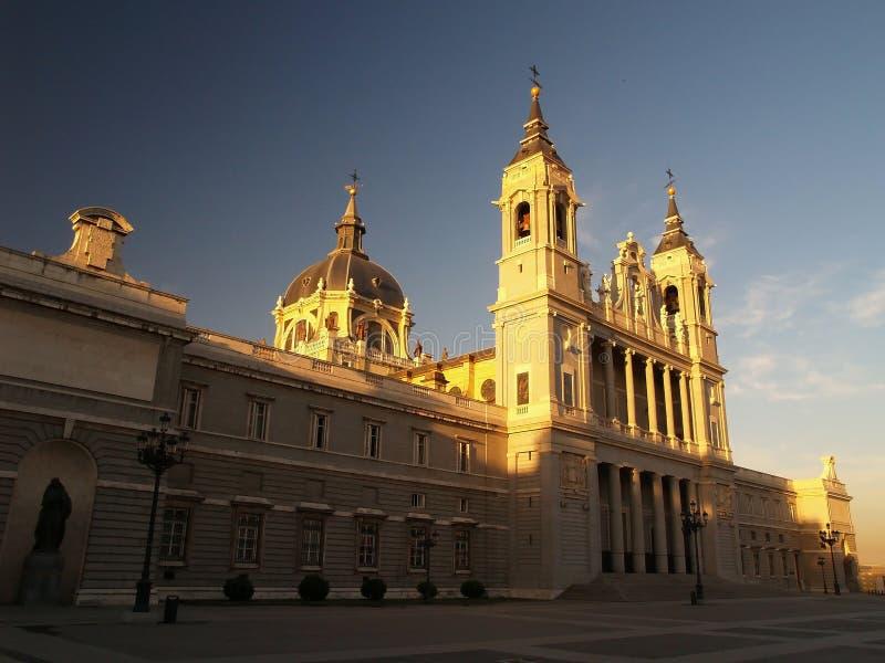 Campo Del Moro in Madrid lizenzfreies stockfoto