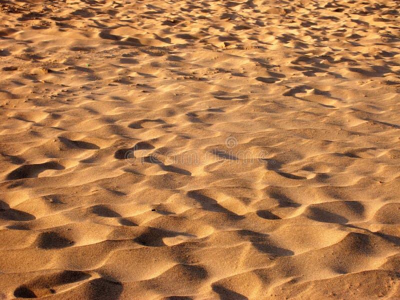 Campo della sabbia immagini stock libere da diritti
