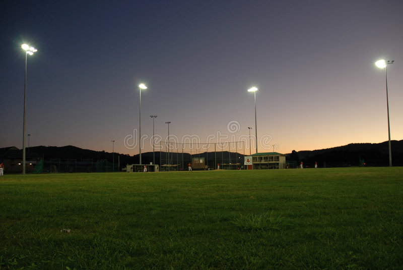 Campo di baseball immagini stock libere da diritti