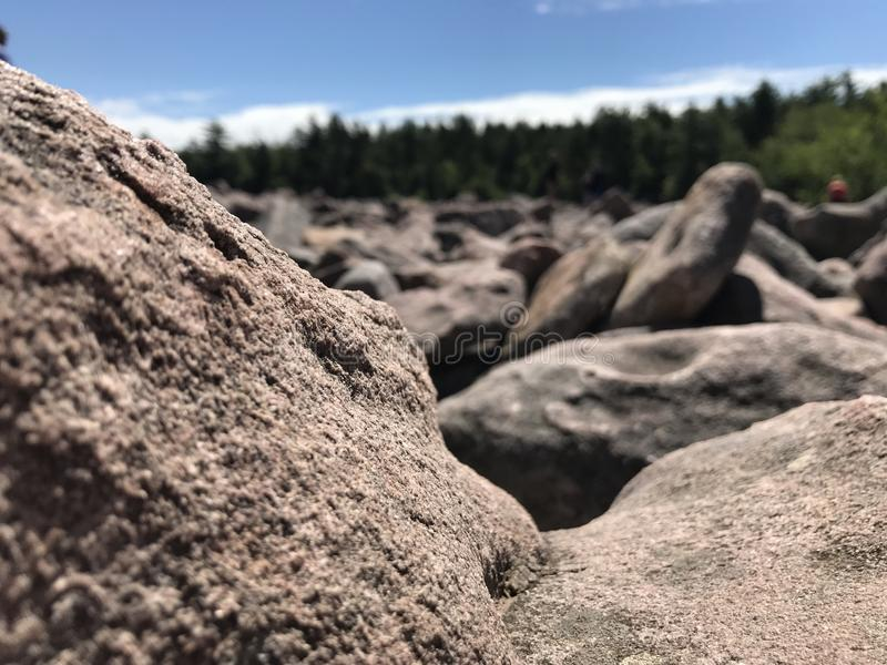 Campo di Boulder fotografia stock