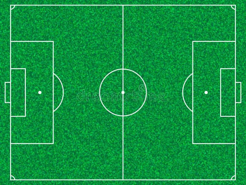 Campo di calcio illustrazione di stock