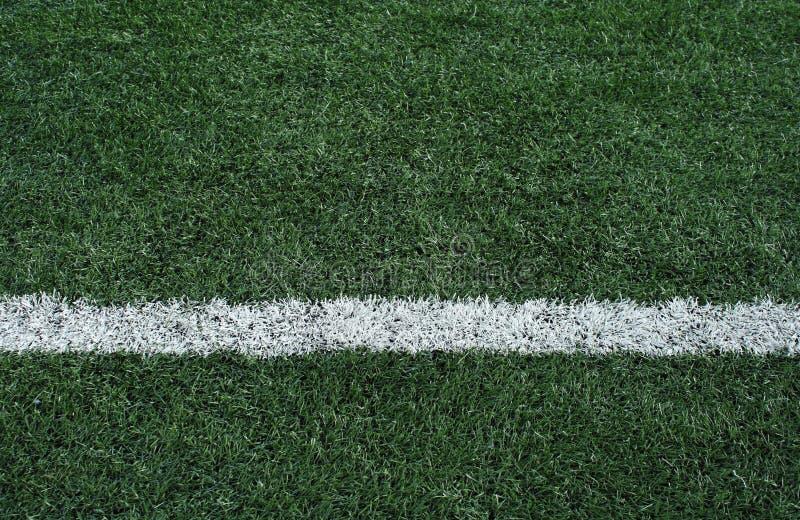 Campo di calcio artificiale dell'erba immagini stock
