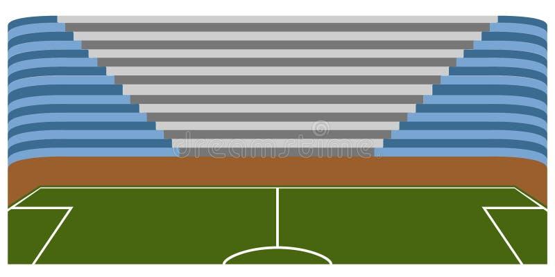 Download Campo Di Calcio Dentro Uno Stadio Illustrazione Vettoriale - Illustrazione di vettore, lega: 117979935
