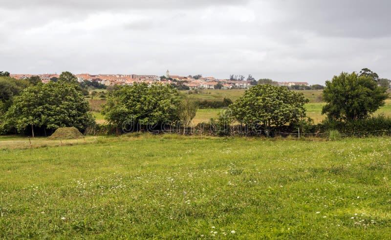 Campo di Cantabria fotografie stock
