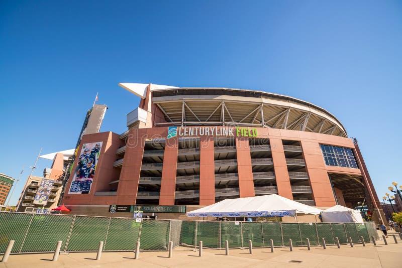 Campo di CenturyLink a Seattle immagini stock libere da diritti