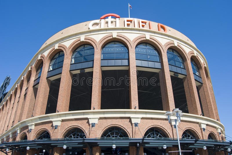 Campo di Citi, casa del Mets fotografia stock libera da diritti