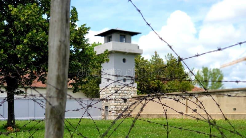 Campo di concentramento della croce rossa fotografie stock libere da diritti