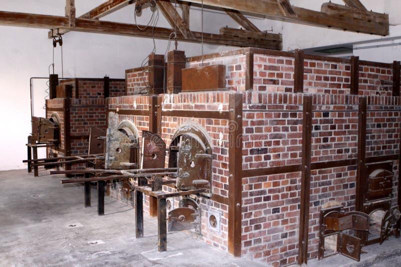 Campo di concentramento di Dachau fotografia stock libera da diritti