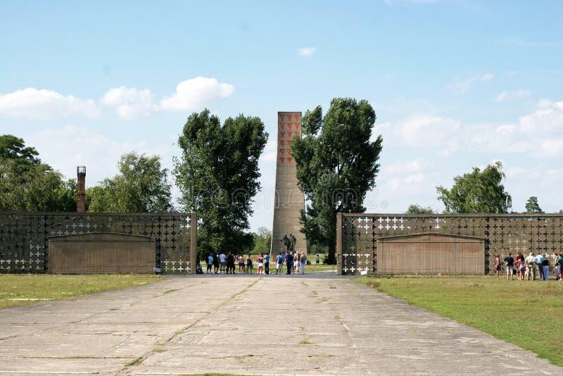 Campo di concentramento di Sachsenhausen-Oranienburg immagini stock